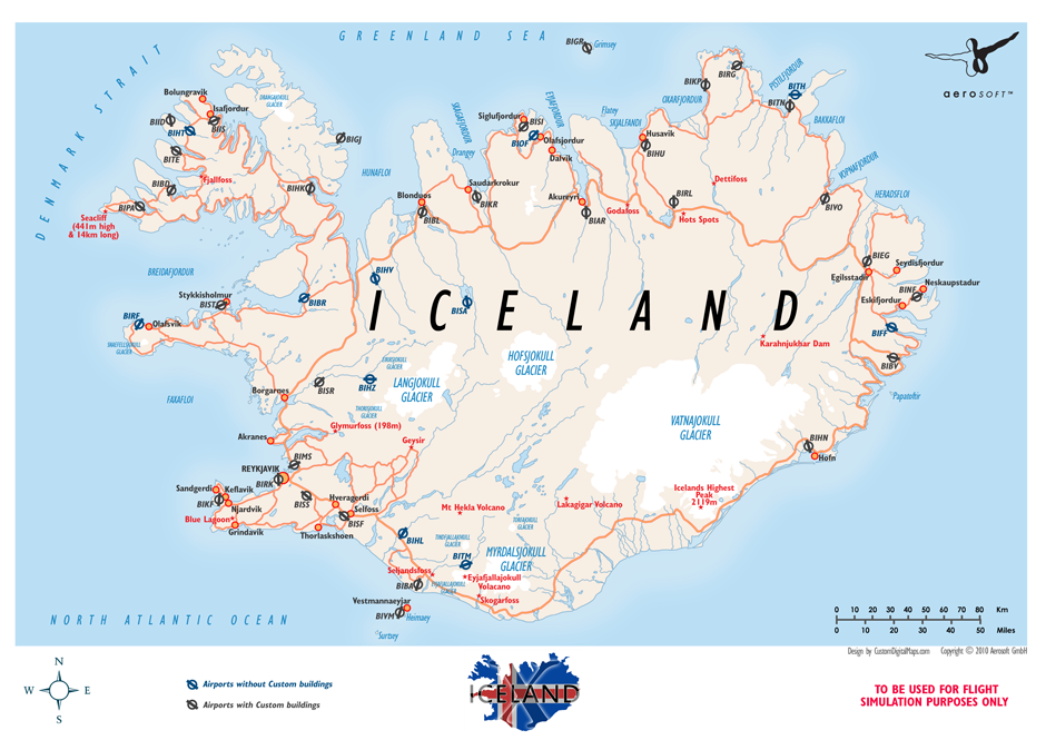 Remarkable image throughout printable map of iceland