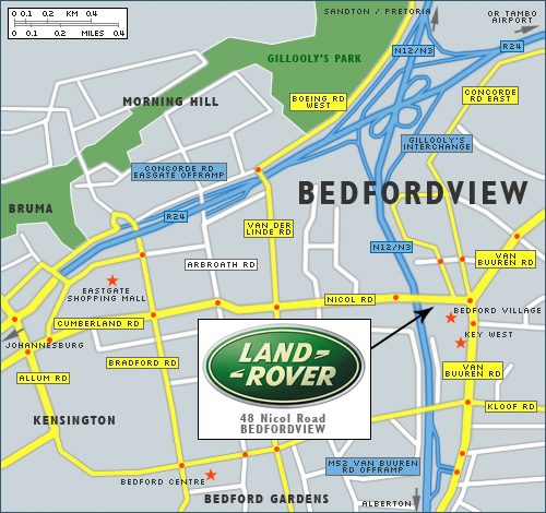 Land Rover Locator Map Portfolio