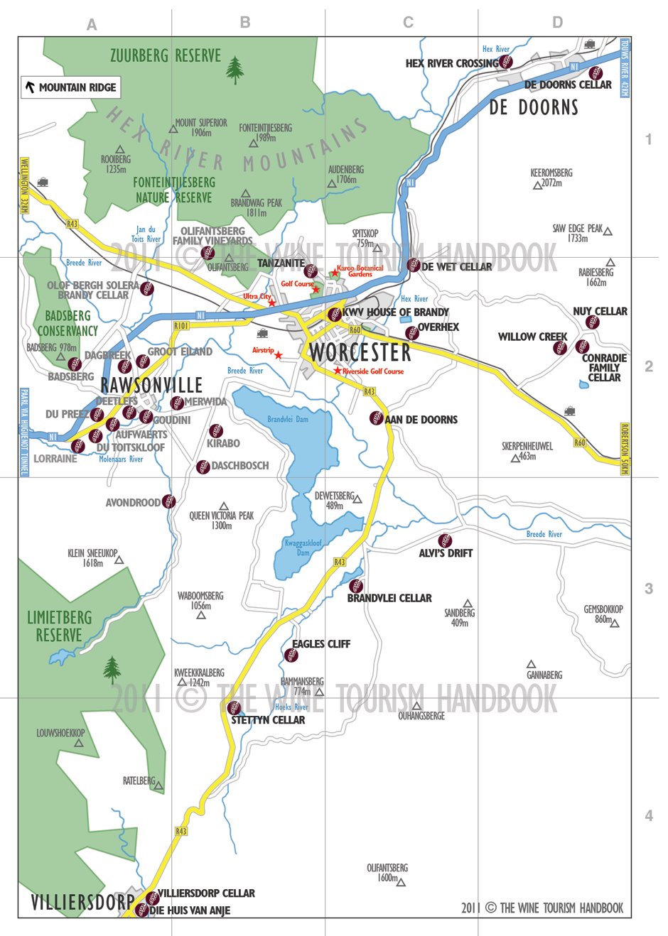 Wine Tourism Handbook 2011 Map Series Portfolio