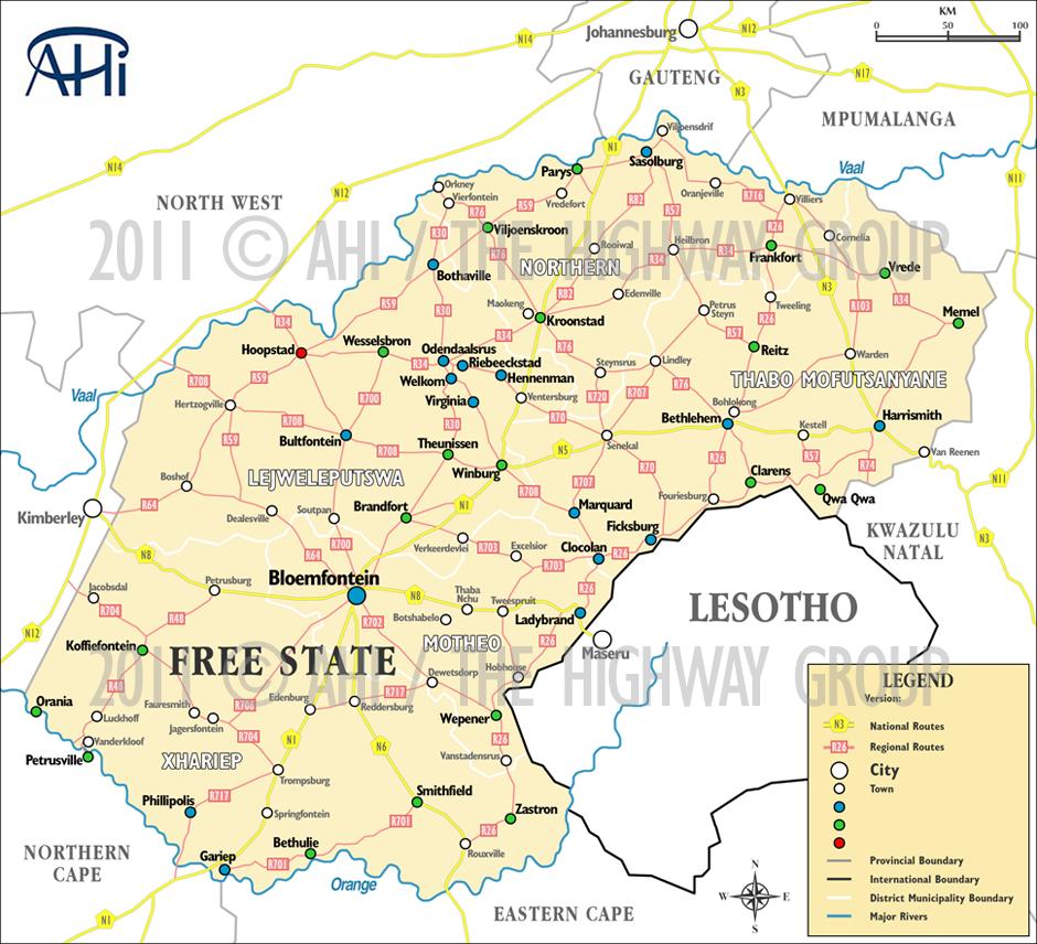 AHI Map Portfolio